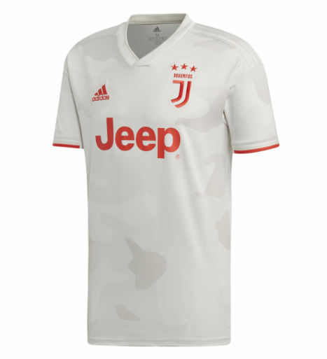 Juventus Away Soccer Jersey Player Version 2019/20