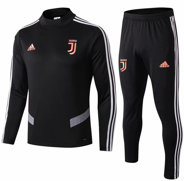 Juventus Training Top Suits Black Grey 2019/20