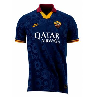 AS Roma 3rd Away Soccer Jersey Player Version 2019/20
