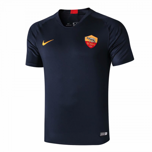 Roma Training Shirt Navy 2019/20