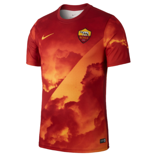 Roma Training Shirt Orange 2019/20