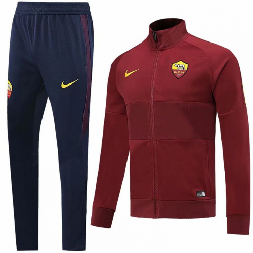 Roma Training Jacket Suits Red 2019/20