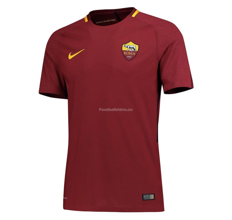 Match Version AS Roma Home Soccer Jersey 2017/18