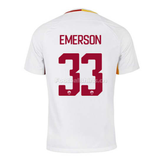 AS ROMA Away EMERSON #33 Soccer Jersey 2017/18