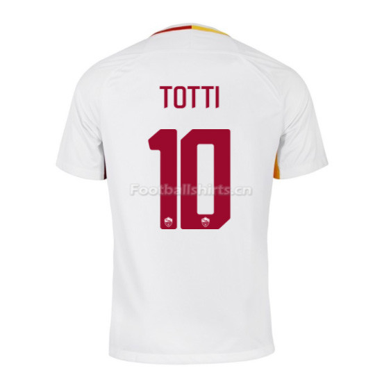 AS ROMA Away TOTTI #10 Soccer Jersey 2017/18