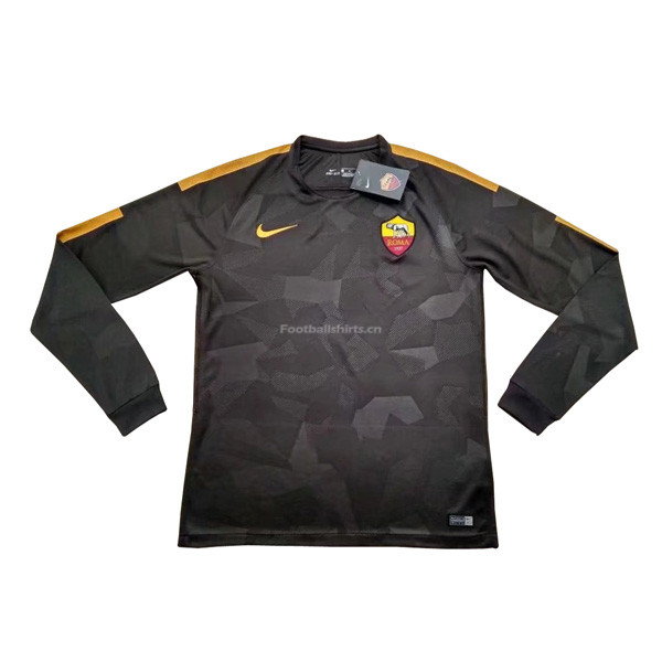 AS Roma Third Long Sleeve Soccer Jersey 2017/18