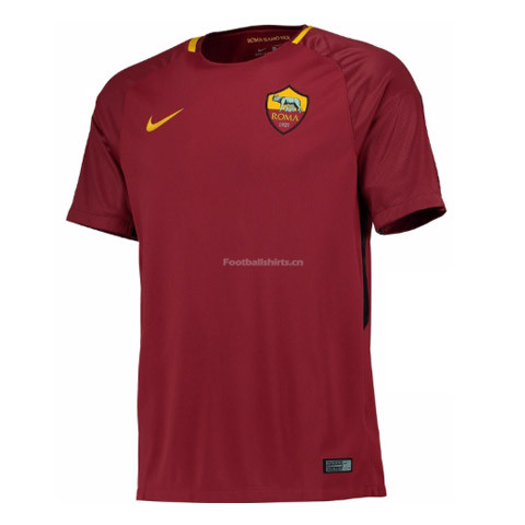 AS Roma Home Soccer Jersey 2017/18