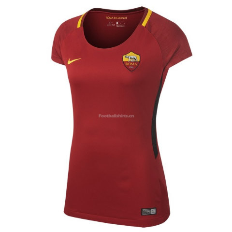 AS Roma Home Women's Soccer Jersey 2017/18