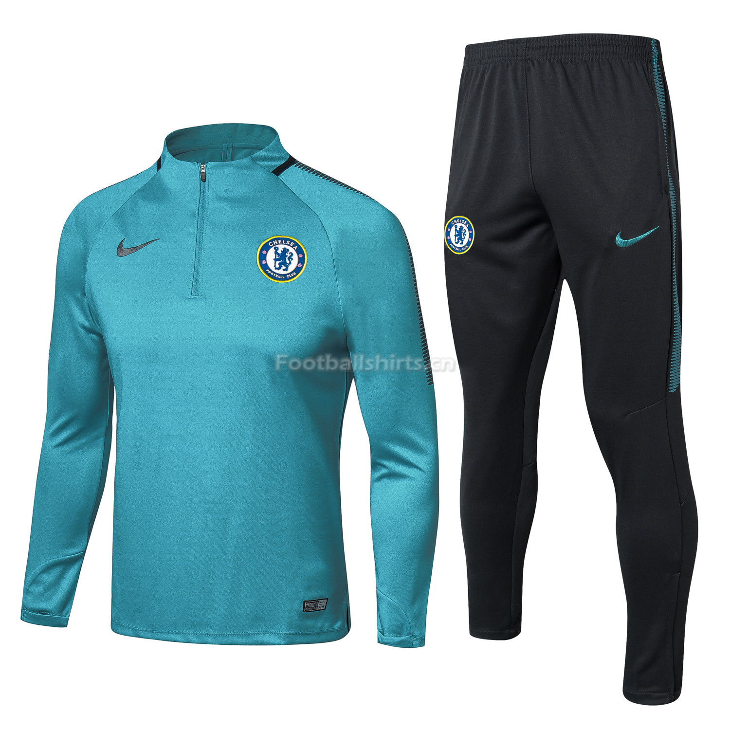 Kids Chelsea Blue Training Suit 2017/18