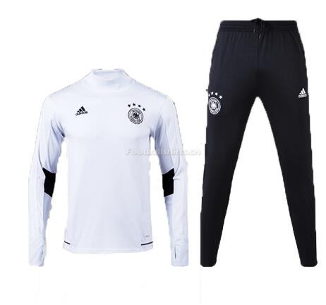 Kids Germany FIFA World Cup 2018 Training Suit White