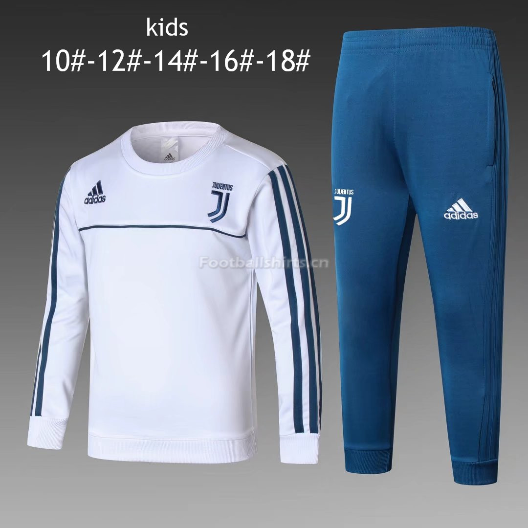 Kids Juventus Training Suit O'Neck White 2017/18