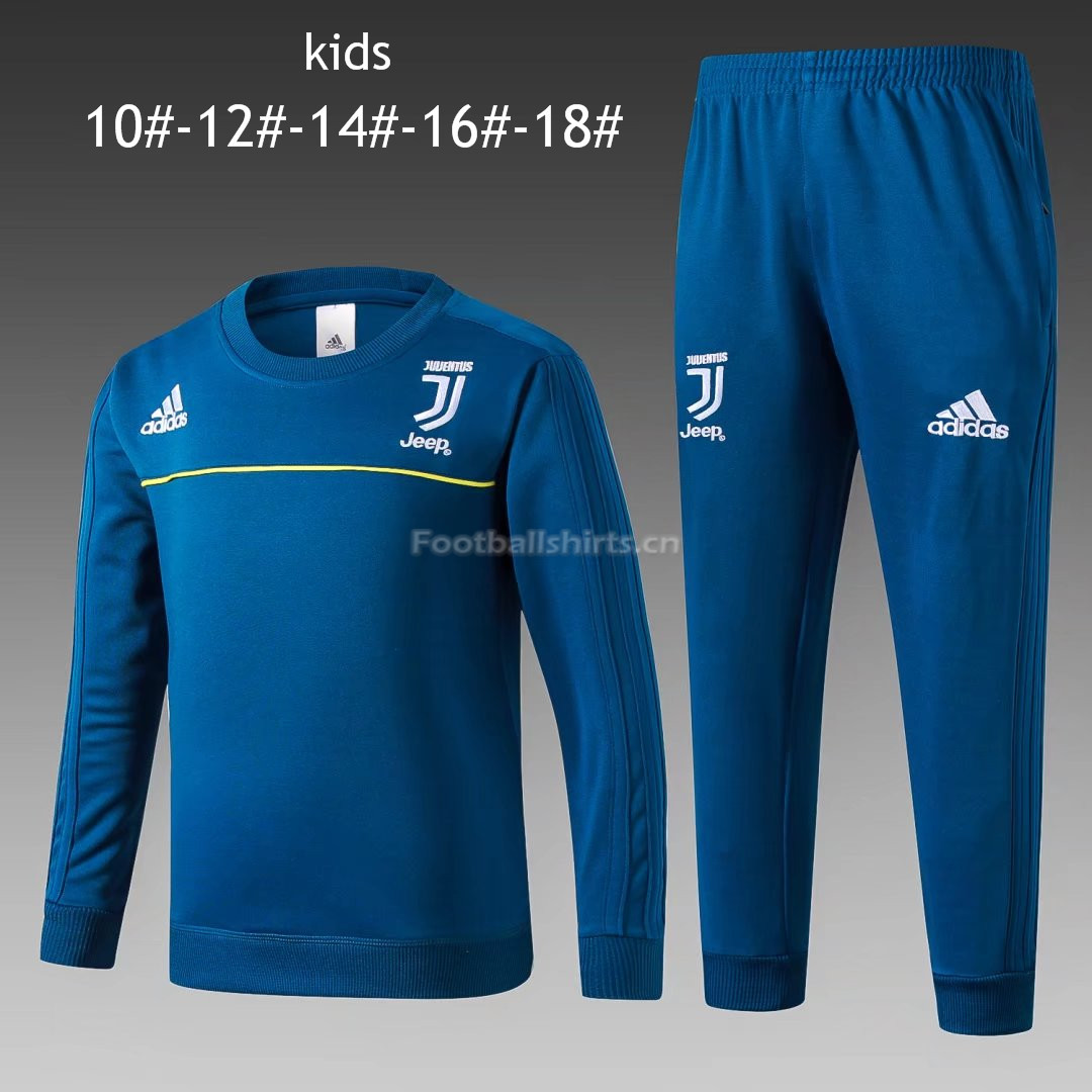 Kids Juventus Training Suit O'Neck Blue 2017/18