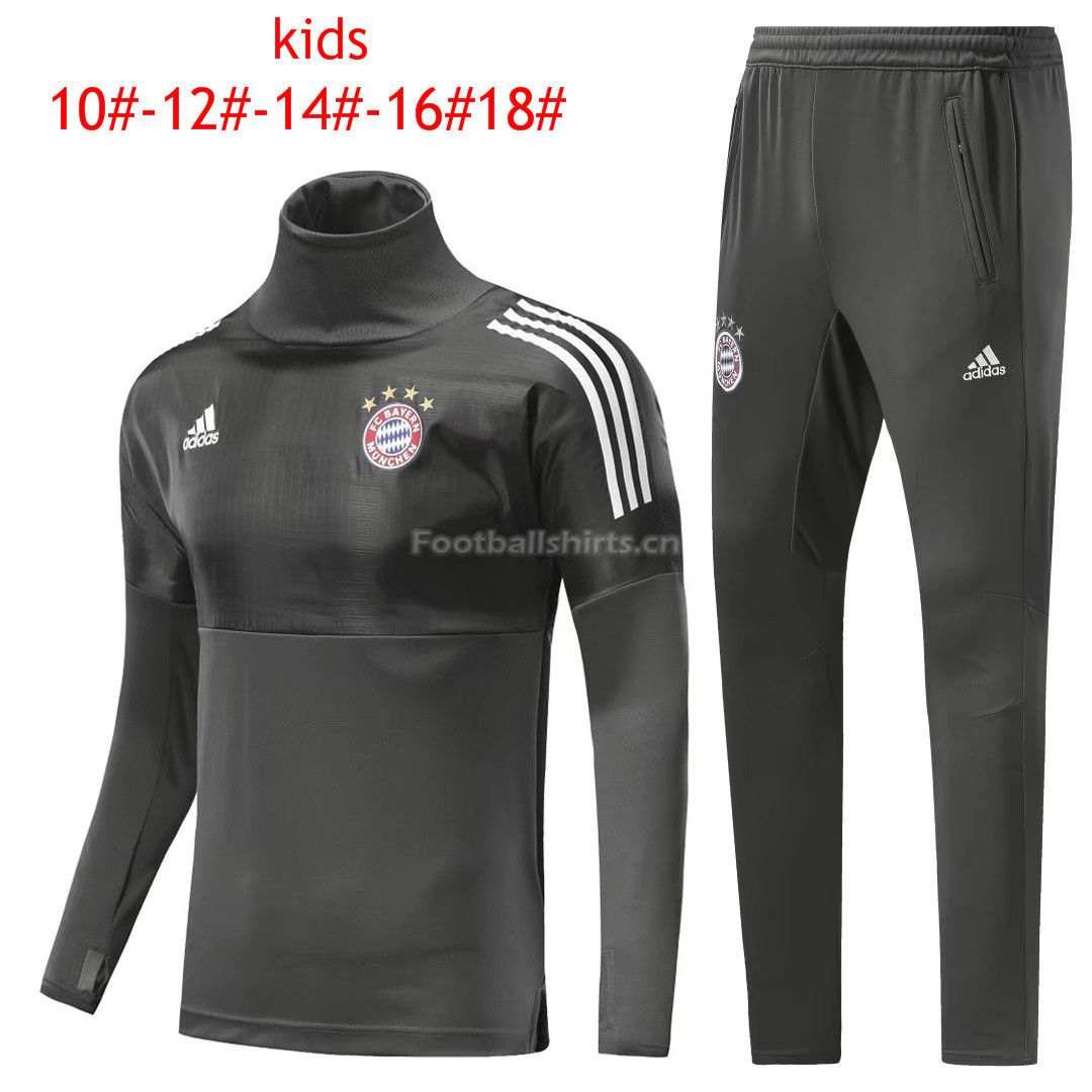 Kids Bayern Munich Training Suit Turtle Neck Champions League Gr