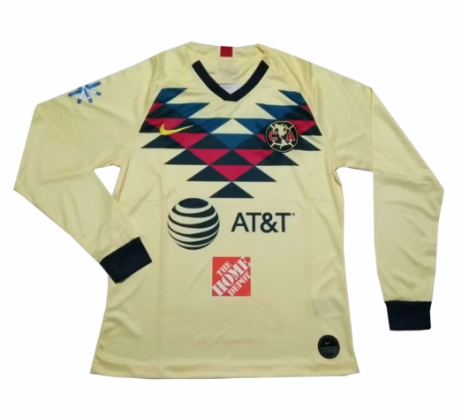 Club America Home Soccer Jersey Long Sleeve 2019/20