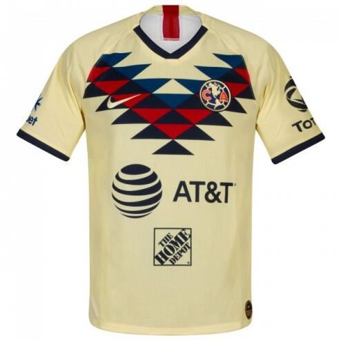 Club America Home Soccer Jersey Player Version 2019/20