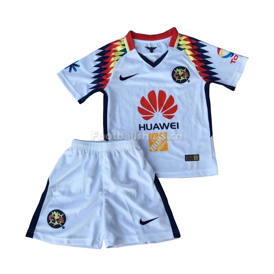 Kids Club America Away Soccer Kit Shirt + Shorts 2017/18