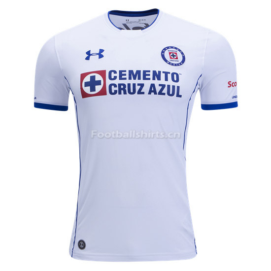 Cruz Azul Away Soccer Jersey 2017/18
