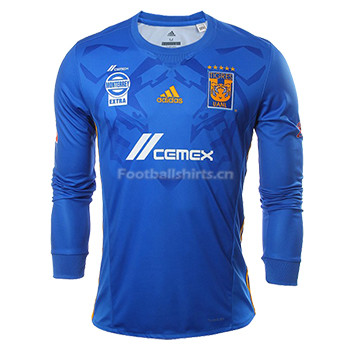 Tigres UANL Away Long Sleeve Soccer Jersey 2017/18