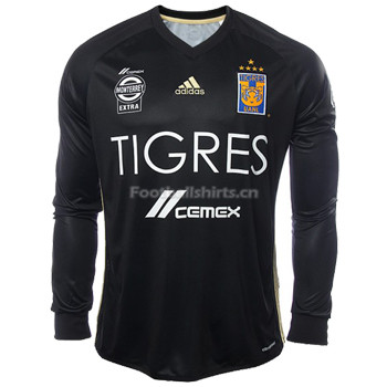 Tigres UANL Third Long Sleeve Soccer Jersey 2017/18