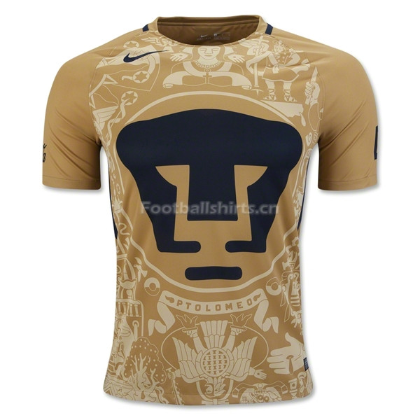 UNAM 2016/17 Home Soccer Jersey