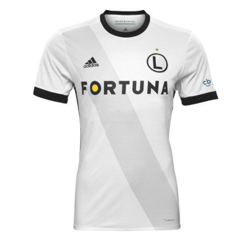 Legia Warsaw Home Soccer Jersey 2017/18
