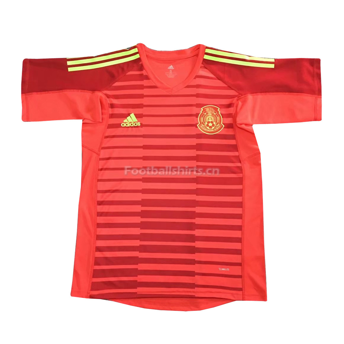 Mexico 2018 World Cup Goalkeeper Shirt Red Soccer Jersey