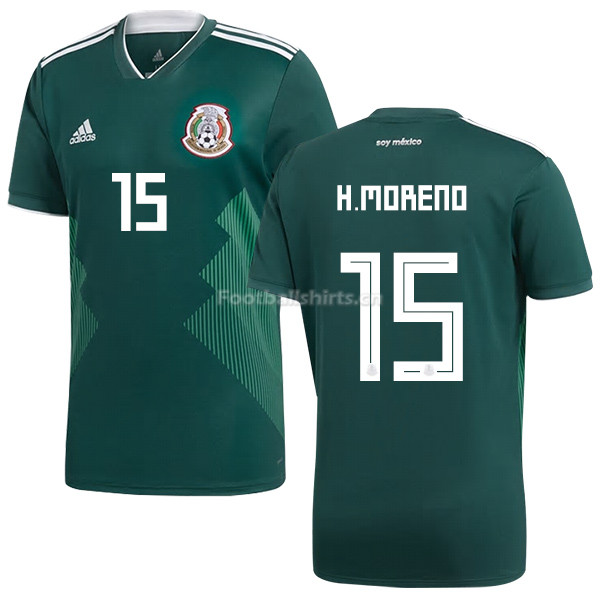 Mexico 2018 World Cup Home HECTOR MORENO 15 Soccer Jersey