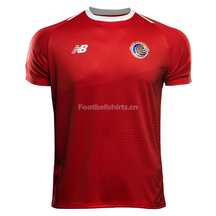 Costa Rica 2018 World Cup Home Soccer Jersey