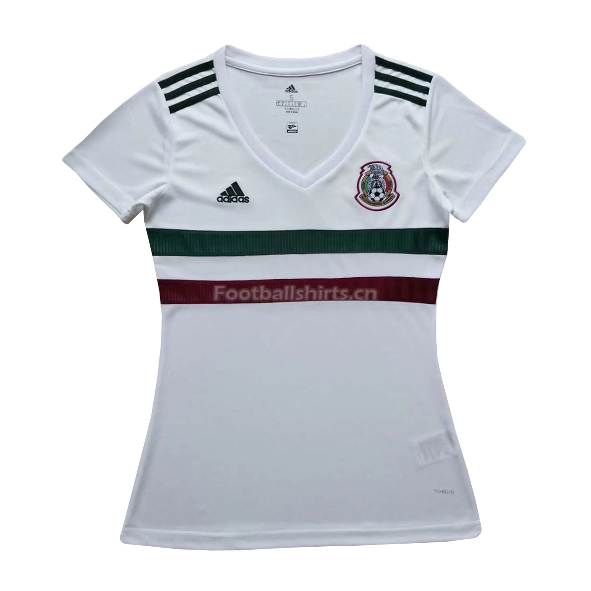 Mexico 2018 World Cup Away Women Soccer Jersey