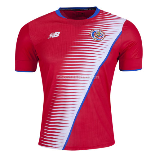 Costa Rica Home Soccer Jersey 2017/18