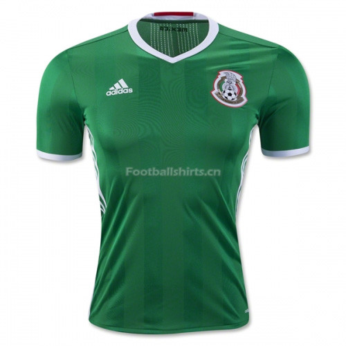 Mexico 2016/17 Home Soccer Jersey