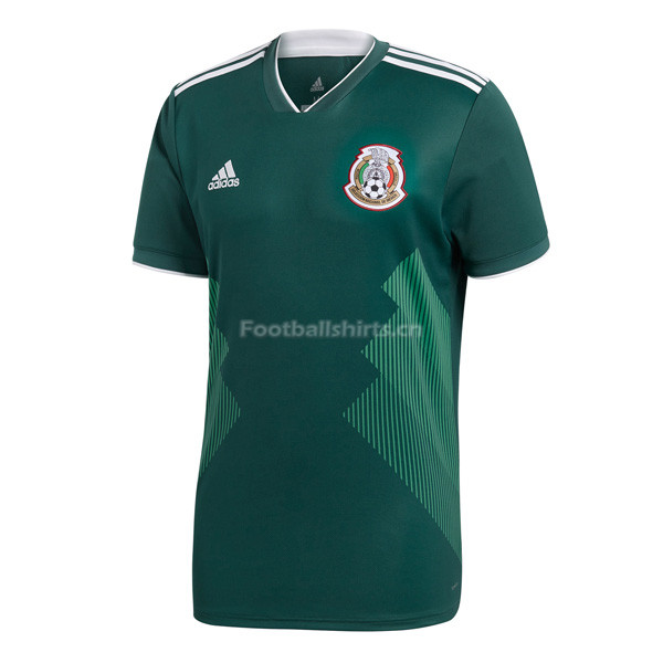 Mexico 2018 World Cup Home Soccer Jersey