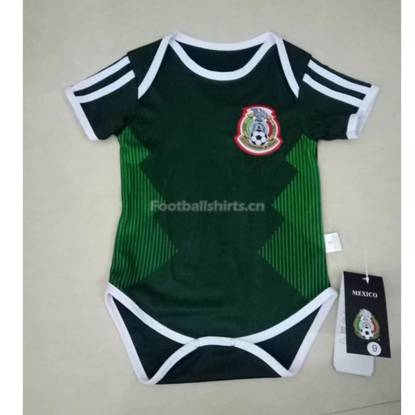 Mexico 2018 World Cup Home Infant Soccer Jersey