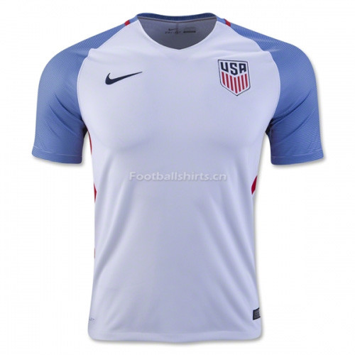 USA 2016/17 Home Soccer Jersey