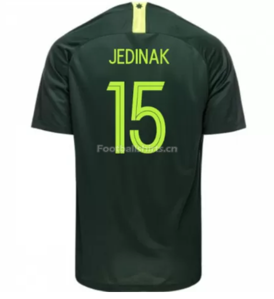 Australia 2018 FIFA World Cup Away Mile Jedinak Soccer Jersey