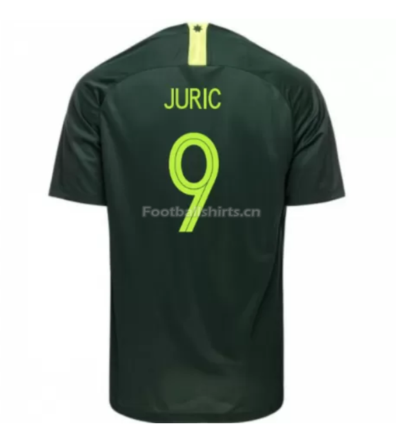 Australia 2018 FIFA World Cup Away Tomi Juric Soccer Jersey