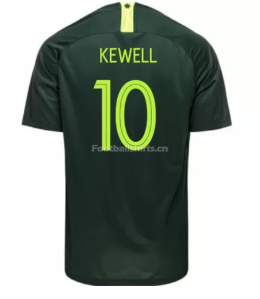 Australia 2018 FIFA World Cup Away Harry Kewell Soccer Jersey