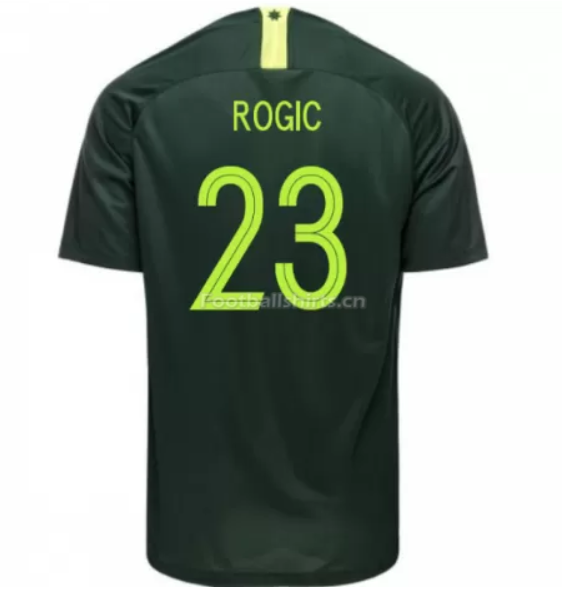 Australia 2018 FIFA World Cup Away Tom Rogic Soccer Jersey