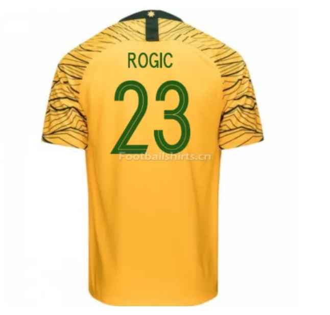 Australia 2018 FIFA World Cup Home Tom Rogic Soccer Jersey