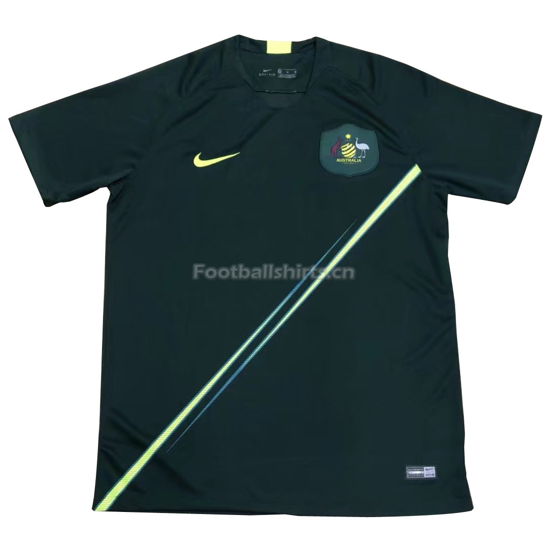 Australia 2018 FIFA World Cup Home Soccer Jersey
