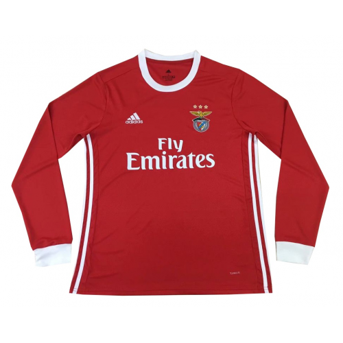 Benfica Home Soccer Jersey Long Sleeve 2019/20