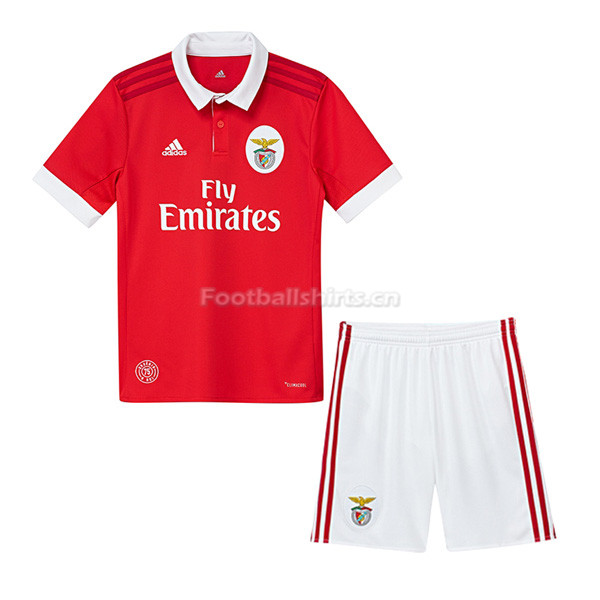 Kids Benfica Home Soccer Kit Shirt + Shorts 2017/18