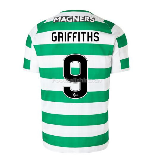 Celtic Home Griffiths 9 Soccer Jersey 2018/19