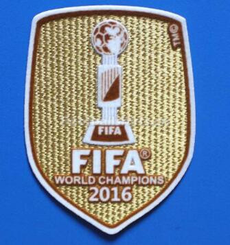 2016 Argentina THE WORLD FOOTBALL FIVES Champions Golden Patch
