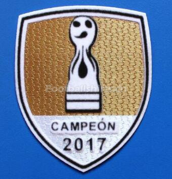 2017 River Plate Champions Golden Patch