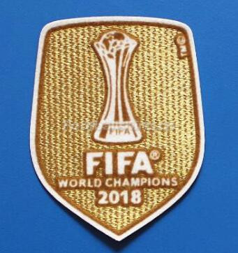 2018 FIFA Club World Cup Champions Golden Patch