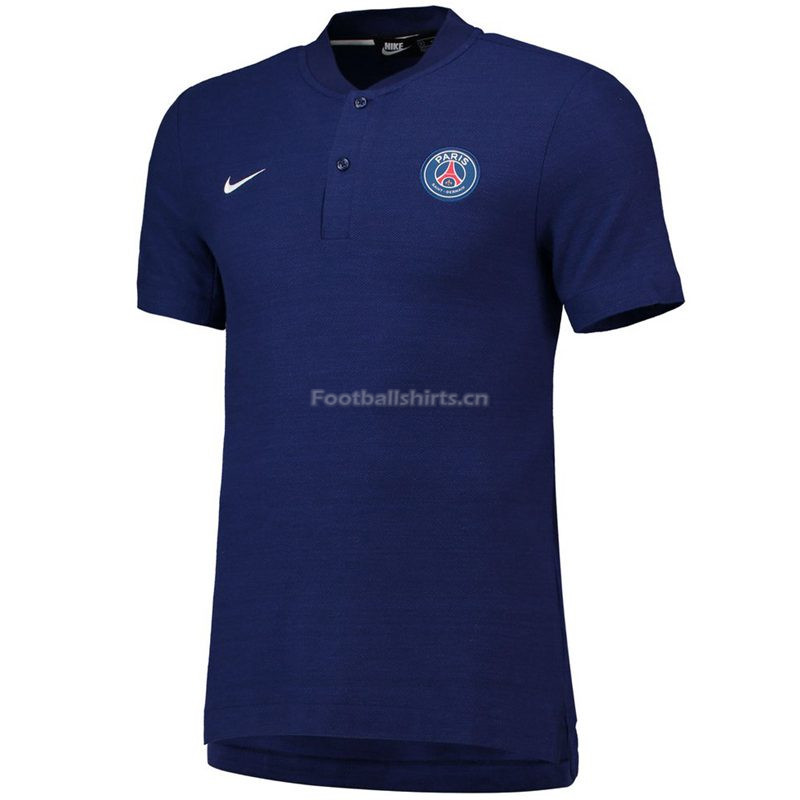 PSG Navy Polo Shirt 2018/19