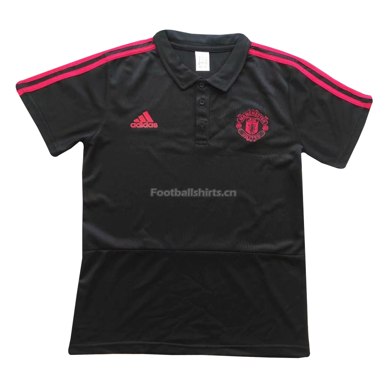 Manchester United 2018 Black Polo Shirt