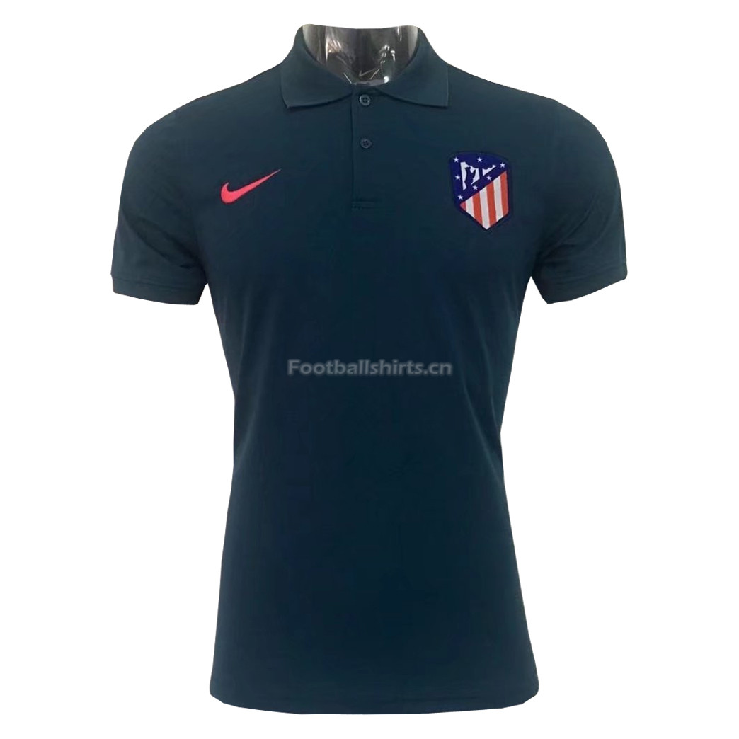 Atletico Madrid Dark Green 2017 Polo Shirt