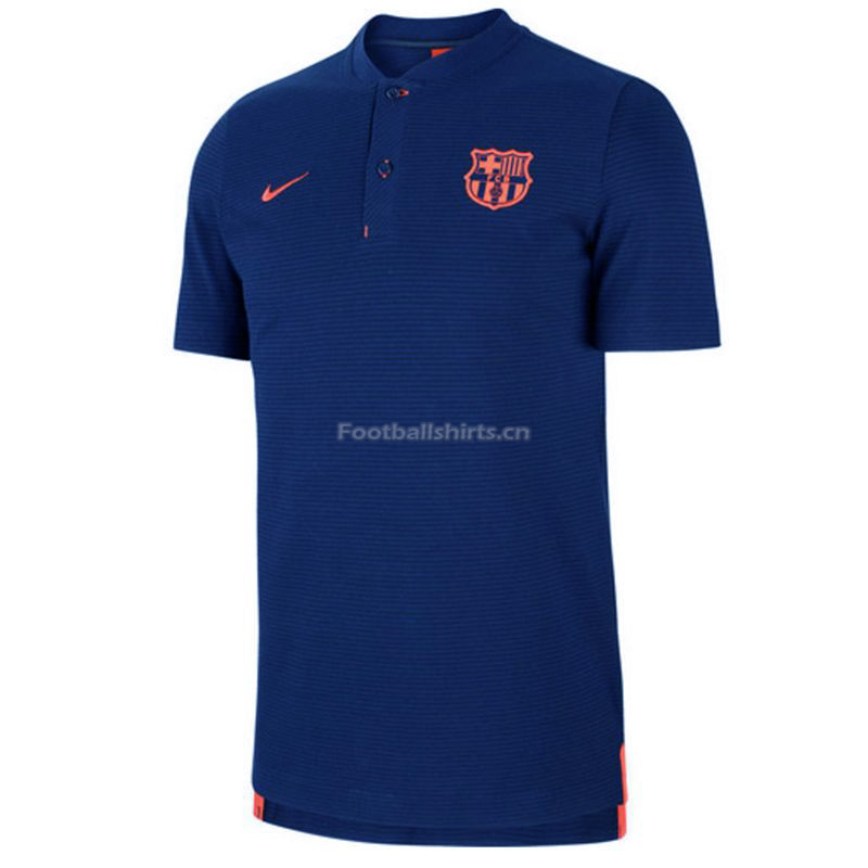 Barcelona Blue Polo Shirt 2018/19